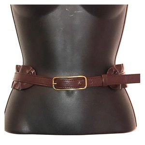 Gap Brown Belt with Gold Buckle